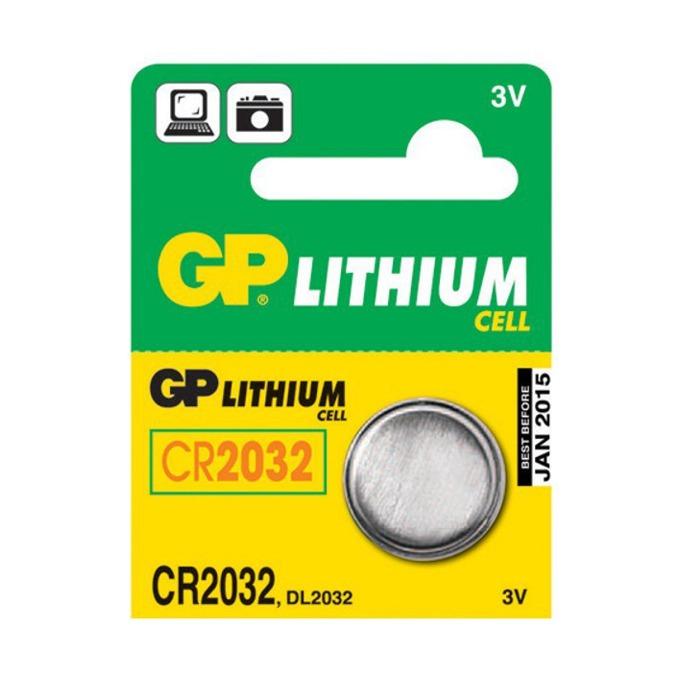 Батерия литиева GP CR2032, 3V, 5 бр. в опаковка цена за 1бр.  image