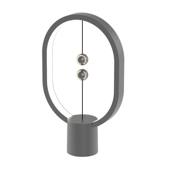 LED настолна лампа Allocacoc HENG Balance Lamp Mini DH0098DG, 3W, 5V, 175 lm, USB-C, 1м. кабел, сив image
