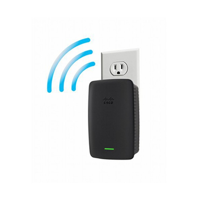 Extender/Екстендър + Бридж, Linksys RE2000, 100Mbps Wireless-N Range, 1 x 10/100 Ethernet Port image