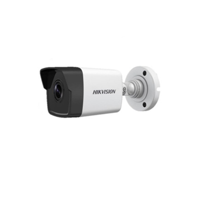 "IP камера Hikvision DS-2CD1001-I, насочена ""bullet"" камера, 1MP (1280x720@25fps), 2.8 mm обектив, H.264 / MJPEG, IR осветление (до 30m), външна IP67, PoE, RJ-45 image"