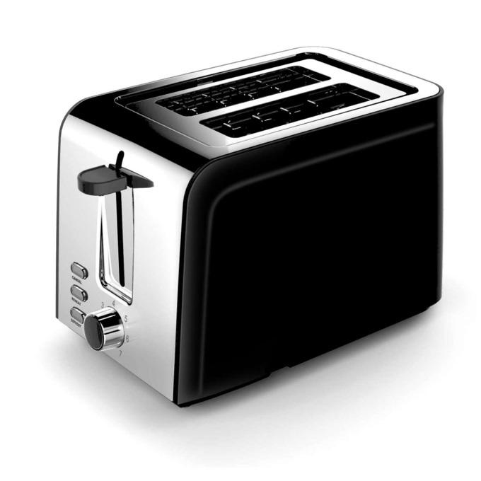 Тостер Zephyr ZP 1440 ZV, 850W, 2 филийки, черен image