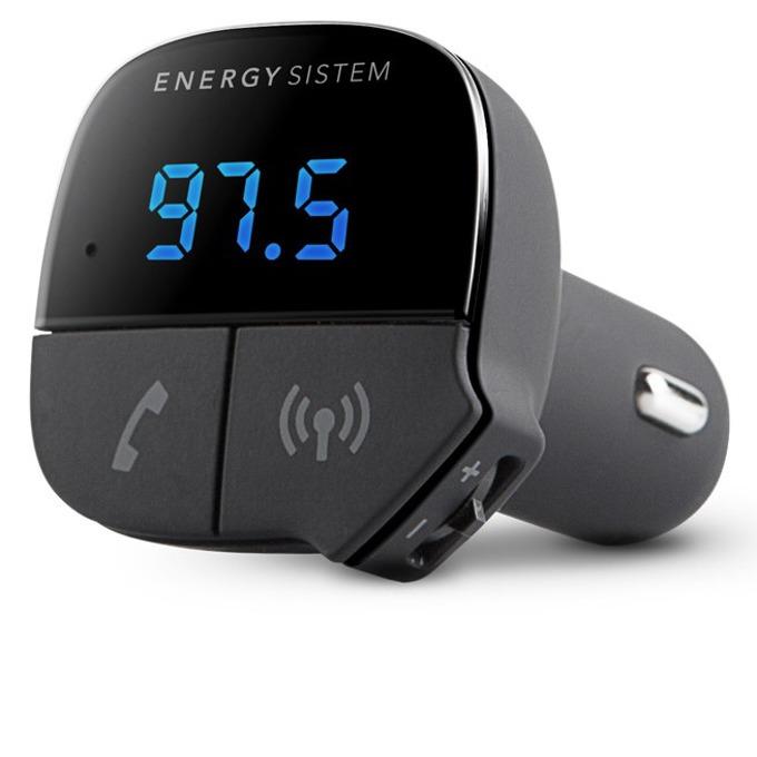 FM трансмитер Energy Sistem, Bluetooth 2.1, 2 A USB image