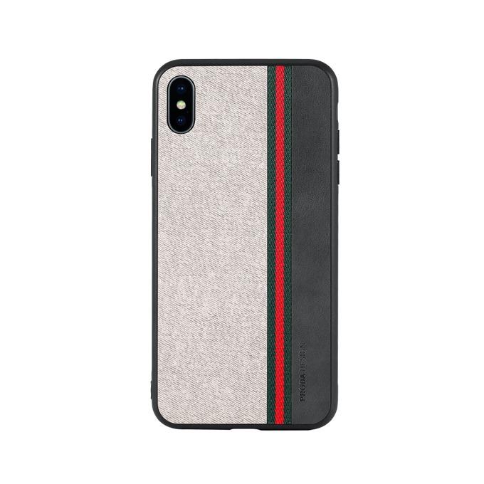 Калъф за Apple iPhone XS Max, термополиуретанов, Remax Proda Grand, сив image