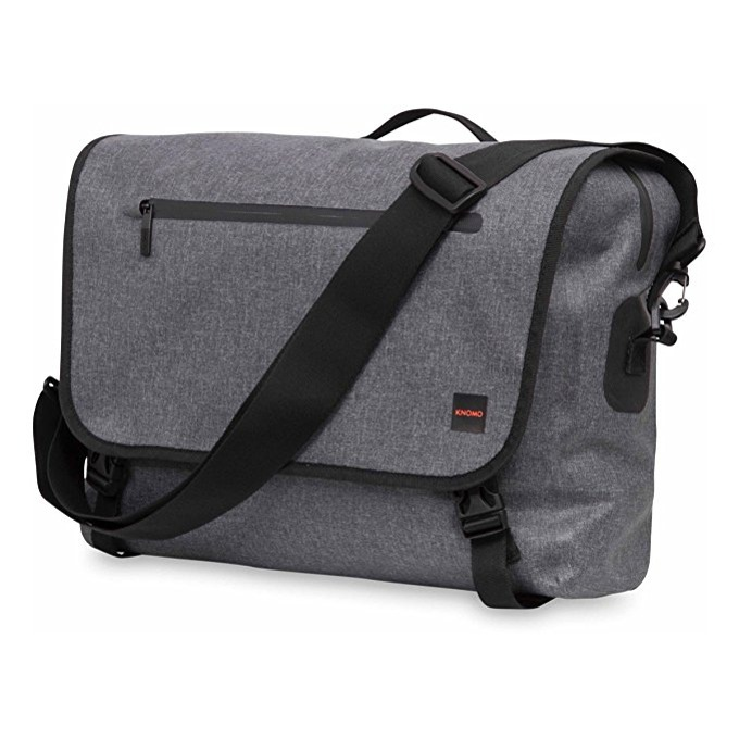 "Чанта за лаптоп Knomo Rupert Messenger, до 14"" (35.56 cm), сива image"