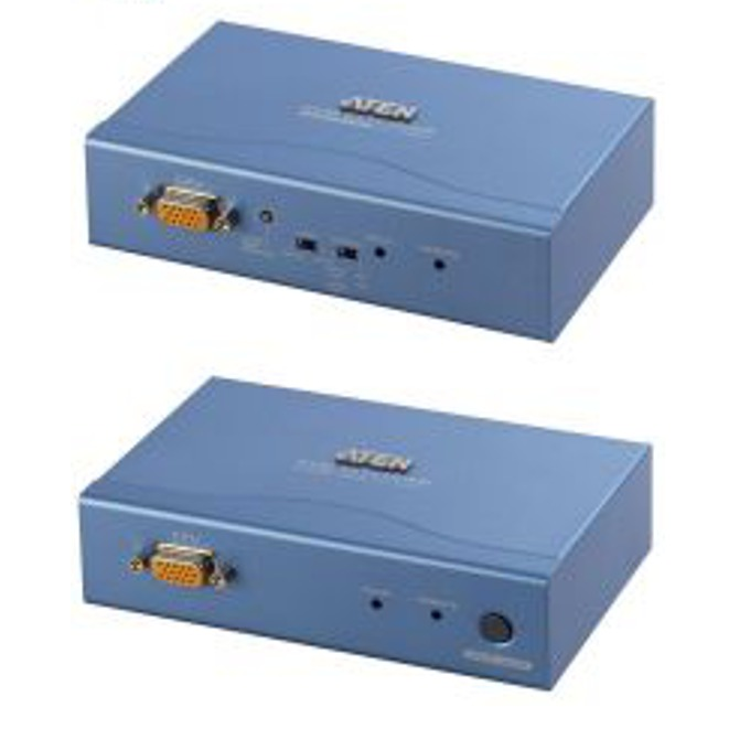 KVM екстендър ATEN CE252L/R, 1600 x 1200, PS2 Mouse & Keyboard, 300 m image