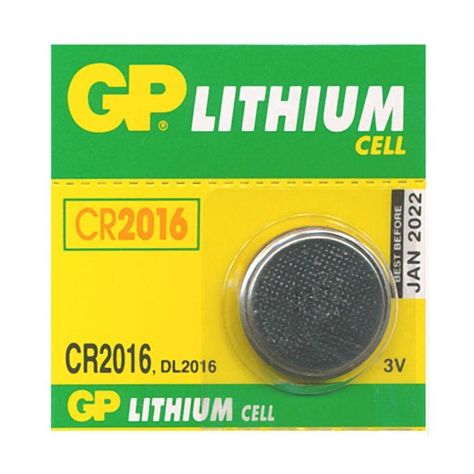 Батерия литиева GP CR2016, 3V, 1бр. image