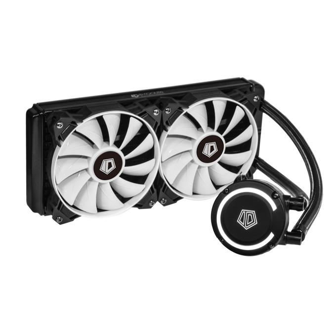 Водно охлаждане за процесор ID-Cooling FROSTFLOW+ 240, съвместимост със сокети LGA2066/2011/1366/1151/1150/1155/1156/775 & AM4/FM2+/FM2/FM1/AM3+/AM3/AM2+/AM2 image