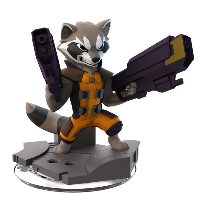 Фигура Disney Infinity 2.0: Rocket Raccoon, за PS3/PS4, Wii U, XBOX 360/XBOX ONE, PC image