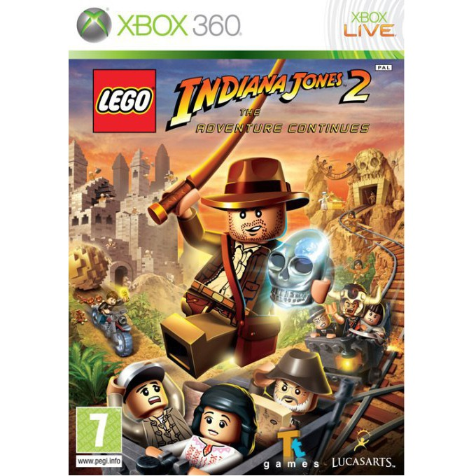 Игра за конзола LEGO Indiana Jones 2: The Adventure Continues, за XBOX360 image
