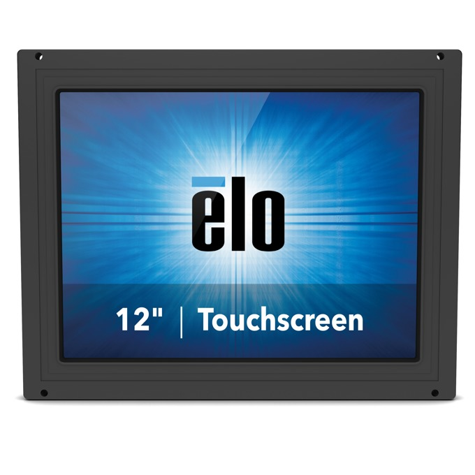 "Монитор ELO E331595, 12.1""(30.73 cm), TN тъч панел, SVGA, 25ms, 1500:1, 405cd/m2, VGA, DisplayPort, HDMI, черен image"