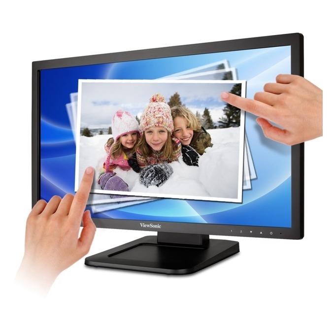"""Монитор 22"""" (55.90 cm) ViewSonic TD2220-2, мулти-тъч сензорен FULL HD LED, 5ms, 20 000 000:1, 200 cd/m2, DVI image"""
