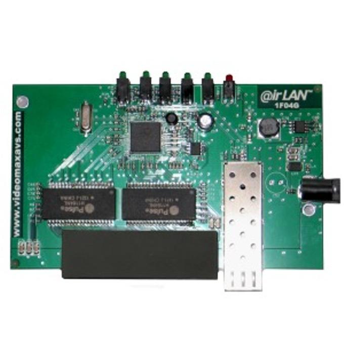 Суич irLAN 1F04G, 1000Mbps, 4х 10/100/1000 LAN, 1x 10/100/100 SFP+ image
