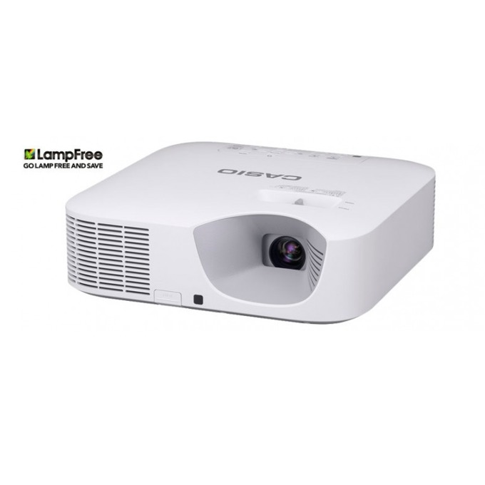 Проектор Casio XJ-F101W, DLP, WXGA(1280 × 800), 20 000:1, 3500 lm, HDMI, VGA, USB, бял image