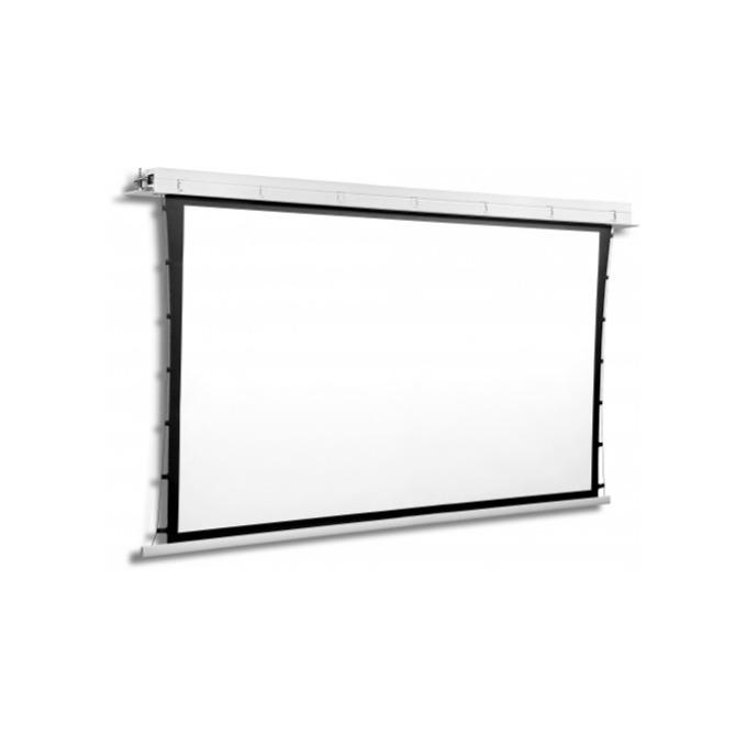 "Екран Avers CONTOUR TENSION 24-18 MW BB, таванен монтаж, Matt White, 240 x 180 см, 118"" (299.72 cm), 4:3 image"