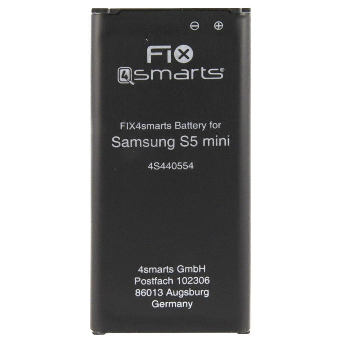 Батерия (заместител) FIX4smarts за Samsung Galaxy S5 mini 2800mAh/3.85V, (bulk) image