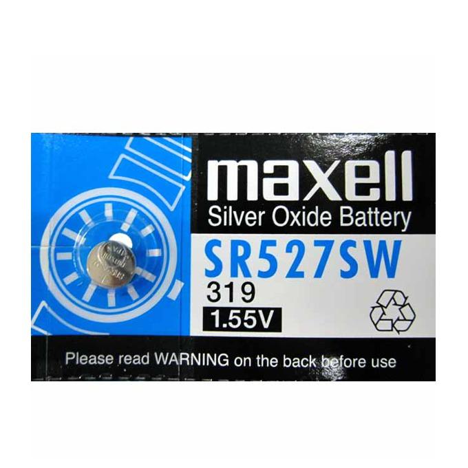 Батерия сребърна Maxell SR, 1.55V, 1 бр. SR527SW