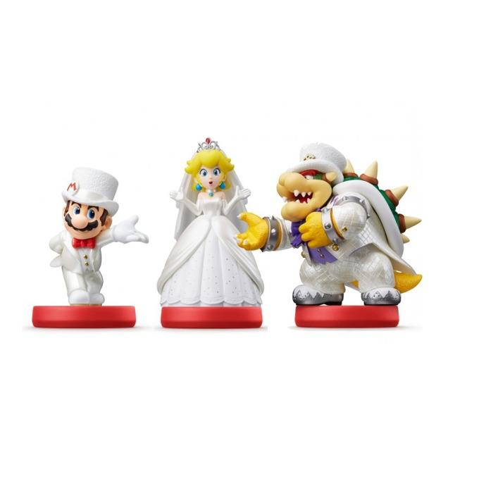 Nintendo Amiibo - Bowser, Mario and Peach product