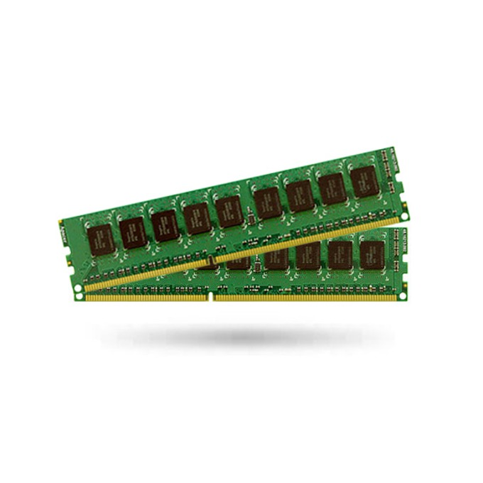 4GB (2x 2GB) DDR3 1600MHz, ECC, Unbuffered image