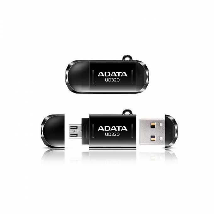 Памет 16GB USB Flash Drive, A-Data DashDrive UD320, черна image
