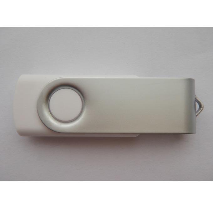 16GB USB Flash Drive, Estillo SD-01, USB 2.0, бяла без лого image
