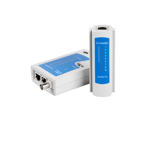 Тестер за LAN кабели Lanberg, RJ-45, RJ-12, RJ-11, COAXIAL - NT-0401 image