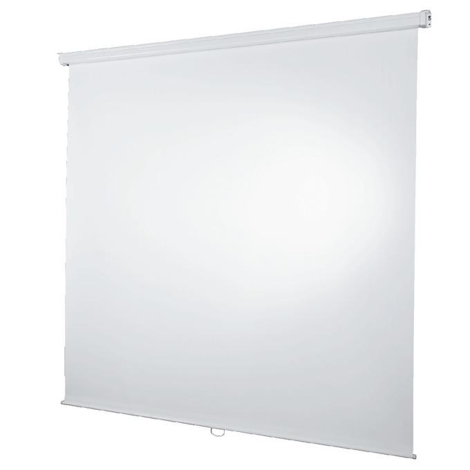 Екран за стена 180x180 cm Roller projection screen