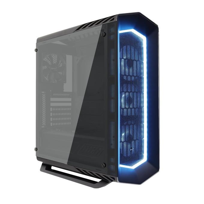 Кутия AeroCool P7-C1 Pro RGB, ATX, mATX, MINI-ITX, 1 x USB3.0, черна, без захранване image