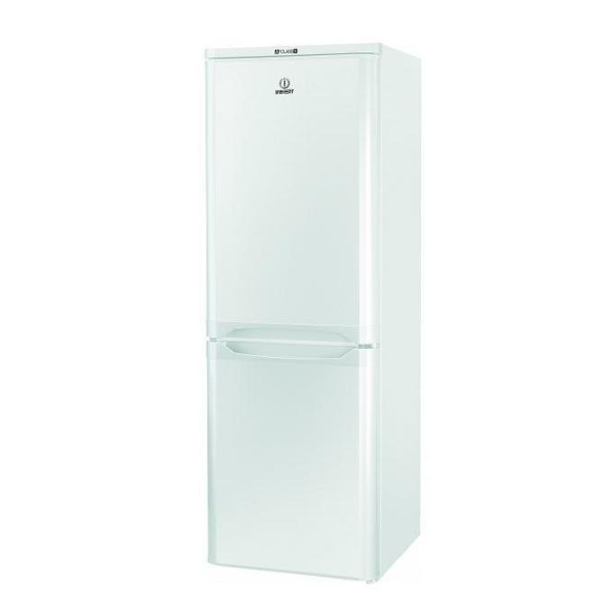 Хладилник с фризер Indesit NCAA55, клас А+, 206 л. общ обем, свободностоящ, 233 kWh/годишно, автоматична система за охлаждане, бял image