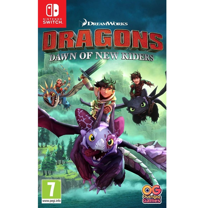 Dreamworks Dragons: Dawn of New Riders, за Nintendo Switch image