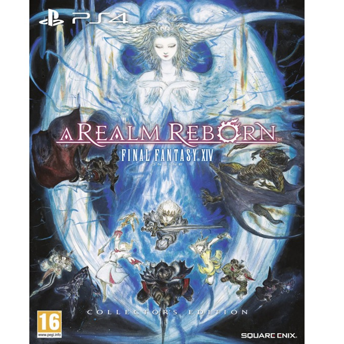 Игра за конзола Final Fantasy XIV: A Realm Reborn Collectors Edition, за PlayStation 4  image