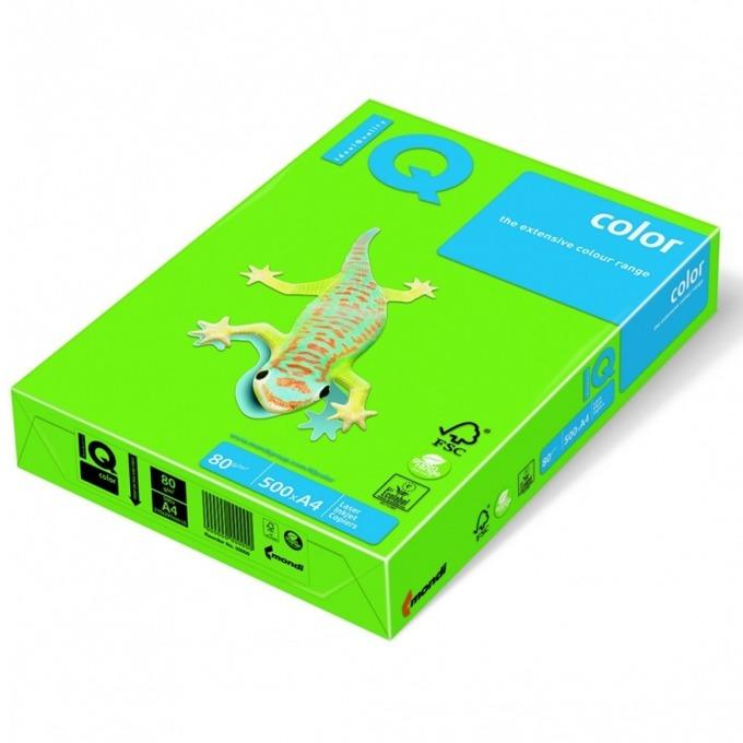 Хартия Mondi IQ Color MA42, A4, 80 g/m2, 500 листа, зелен image