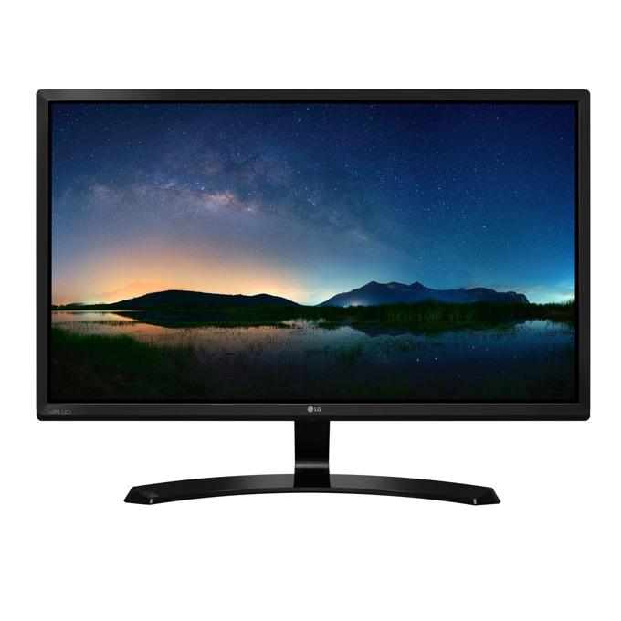 """Монитор LG 24MP58VQ-P, 23.8"""" (60.45 cm) IPS панел, Full HD, 5 ms, 250cd/m2, HDMI, DVI-D, D-Sub image"""
