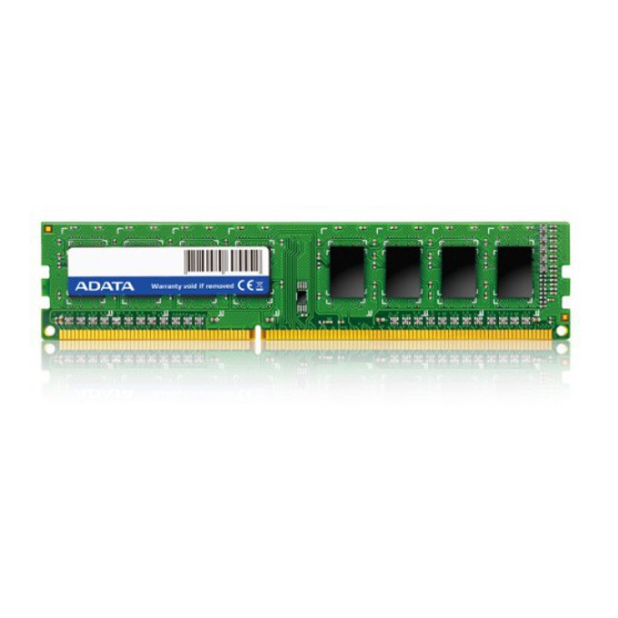 8GB DDR4 2400 MHz, A-Data AD4U240038G17-B, 1.2V image