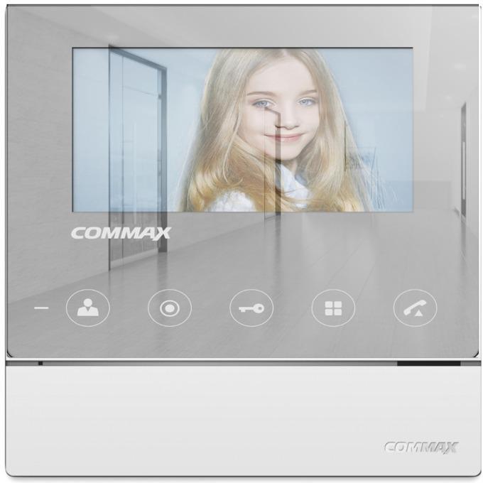 """Видеодомофон COMMAX CDV-70H2, до 2 камери/2 монитора/ 2 интерфона, TFT, 7"""" image"""