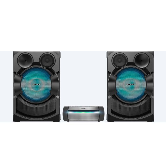 Аудио система Sony SHAKE-X70D, 2.0, парти светлини, HDMI, USB, Bluetooth, NFC, AUX, CD, DVD, черна  image