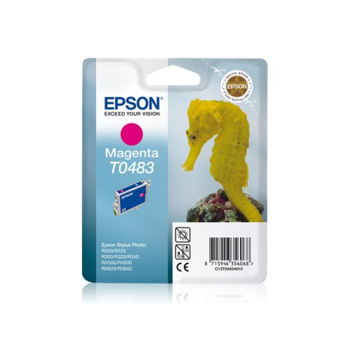 ГЛАВА ЗА EPSON STYLUS PHOTO R 200/R300/R320/ RX 500/600 - Magenta - P№ C13T048340 image