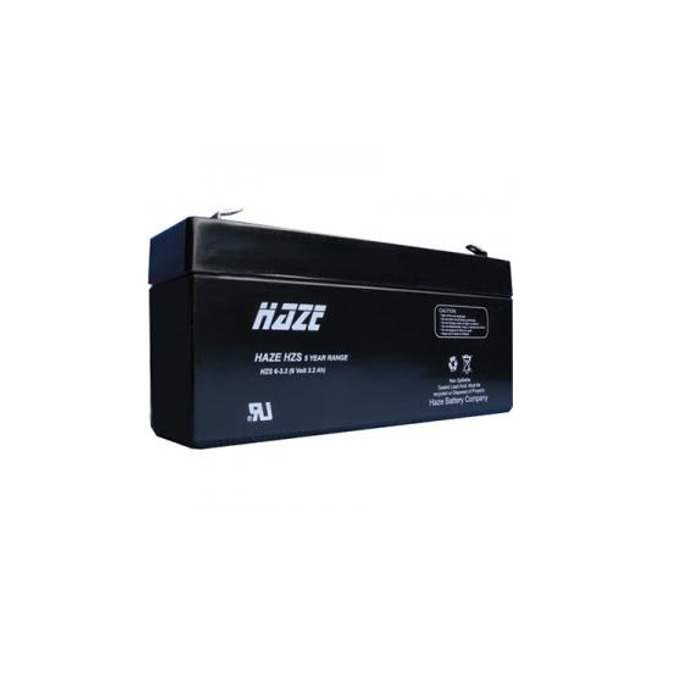 Акумулаторна батерия Haze (HZS6-3.2) 6V, 3.2Ah, AGM image