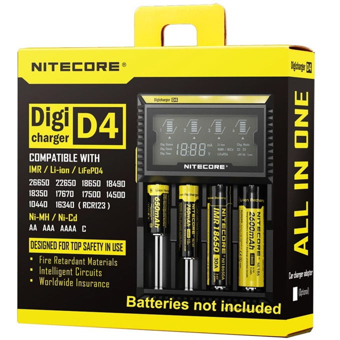 Зарядно Nitecore Digicharger D4