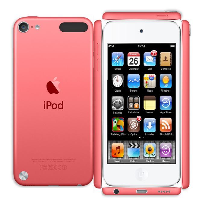 "Apple iPod touch, 4.0"" display, 32Gb, розов image"