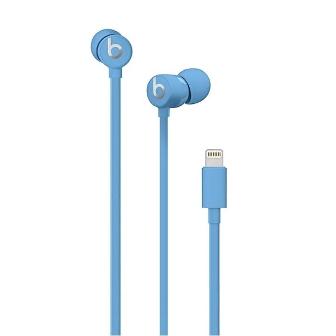 Слушалки Beats urBeats3, Lightning, микрофон, сини image