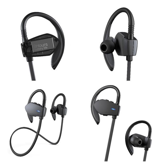 Слушалки Energy Sistem Earphones Sport 1, безжични, микрофон, Bluetooth, графит image