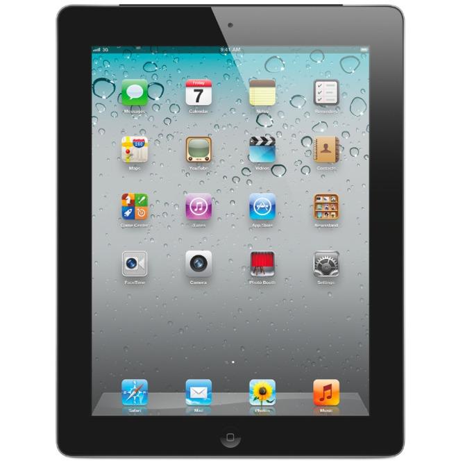 "Таблет Apple iPad 3 (MC707HC/A)(черен), 9.7"" (24.64 cm) IPS дисплей, двуядрен Apple A5X 1.0GHz, 1GB RAM, 64GB Flash памет, 5.0 & 0.3 Mpix камера, iOS 660g image"