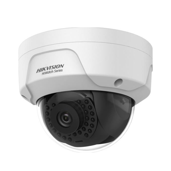 IP камера HikVision HWI-B121H-M, куполна камера, 1MPix(1280×720@25fps), 2.8mm/4mm обектив, H.264/MJPEG, IR осветеност (до 20 метра), външна IP67, PoE, RJ-45 image