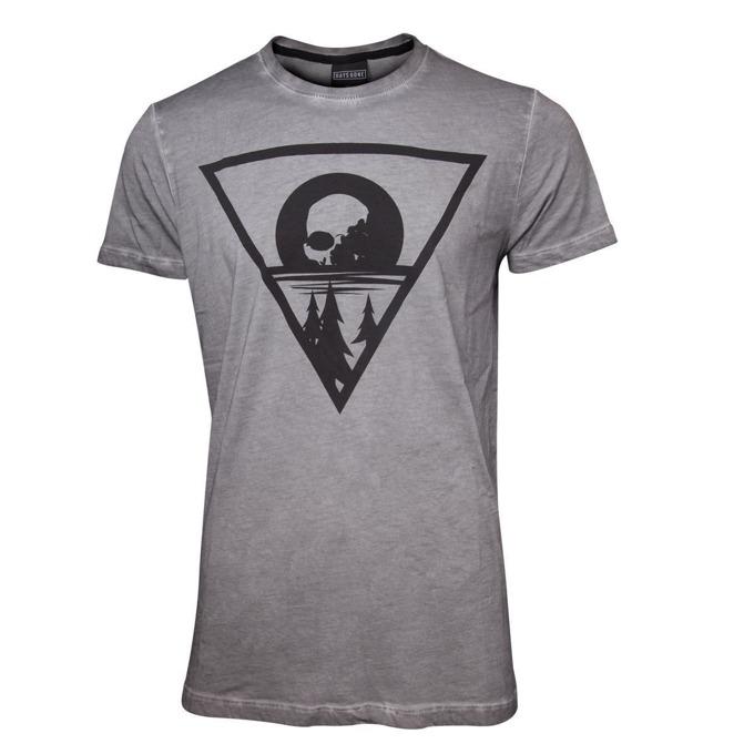 Тениска Bioworld Days Gone Morior Invictus, размер XL, сива image