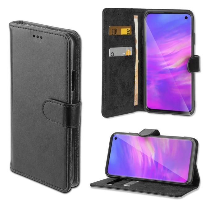 Калъф за Samsung Galaxy S10 Lite, 4smarts Wallet Case URBAN, Flip Wallet , кожен, черен image