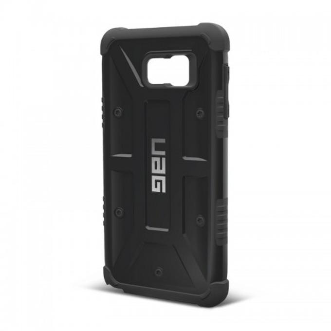 Хибриден кейс Urban Armor Gear Scout, Galaxy Note 5, удароустойчив, черен image