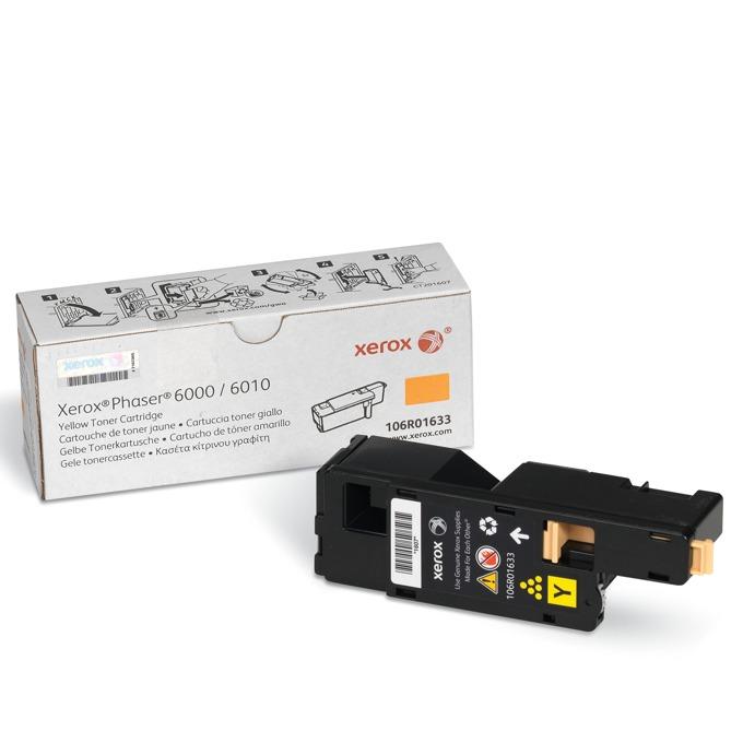 КАСЕТА ЗА XEROX Phaser 6000/6010 - Yellow - P№ 106R01633 - заб.: 1000k image
