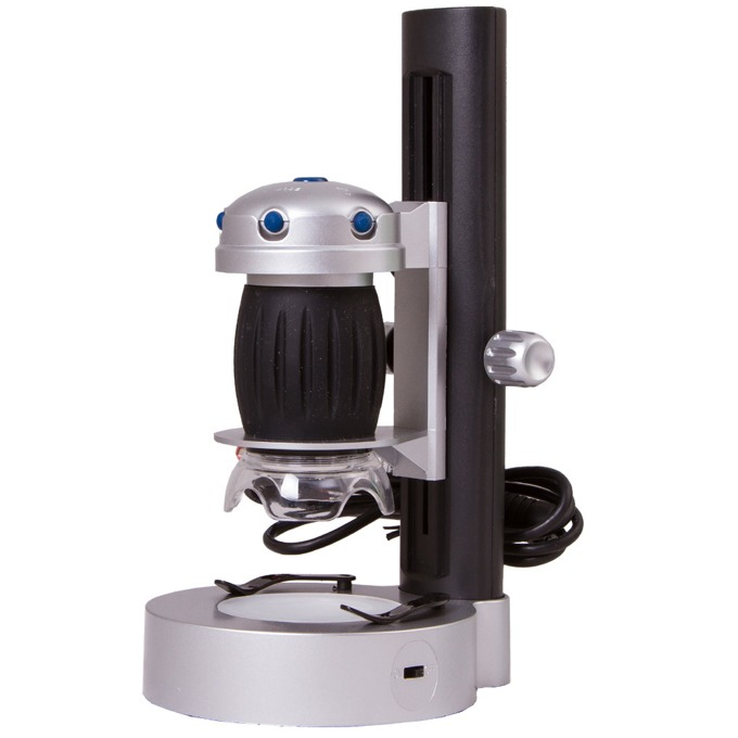 Дигитален микроскоп Bresser National Geographic 69369, USB, 20-200x оптично увеличение image