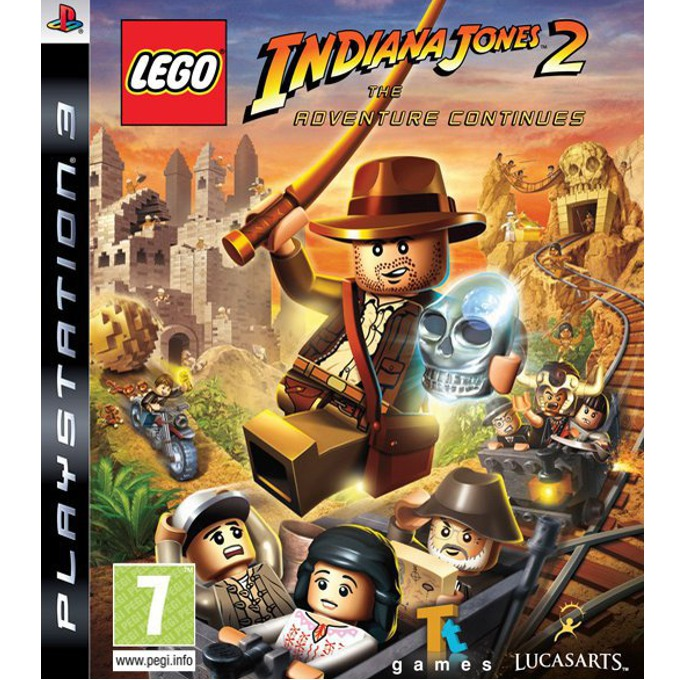 Игра за конзола LEGO Indiana Jones 2: The Adventure Continues, за PlayStation 3 image