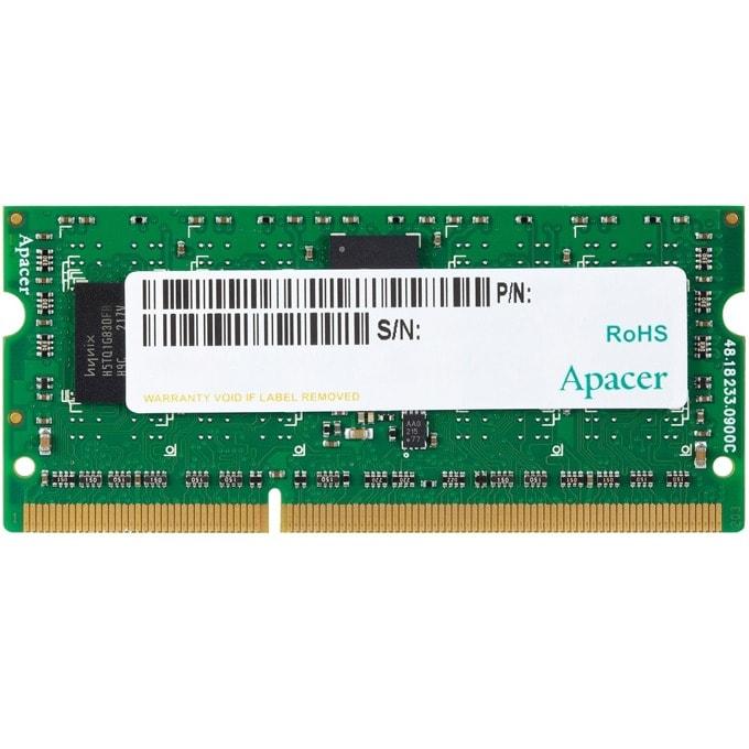 4GB DDR3L 1600MHz, SODIMM, Apacer, 1.35V image